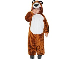 Costume Orsetto In Peluche