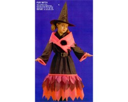 Costume Strega Fuxy Witch