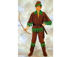 Costume Robin Hood Marrone