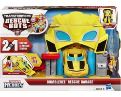 Transformers Bumblebee Rescue Garage