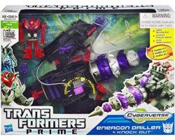 Transformers Prime Energon Driller + Knock Out