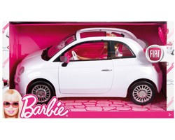 auto fiat 500 di barbie bianca 027084800425 45 00 l 39 erbavoglio giocattoli il tuo. Black Bedroom Furniture Sets. Home Design Ideas