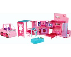 Il Camper Di Barbie - 2 In 1